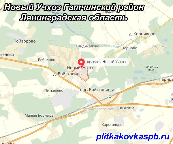 Новый Учхоз Гатчинский район Ленинградская область