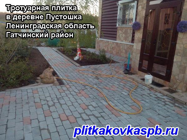 Тротуарная плитка Пустошка