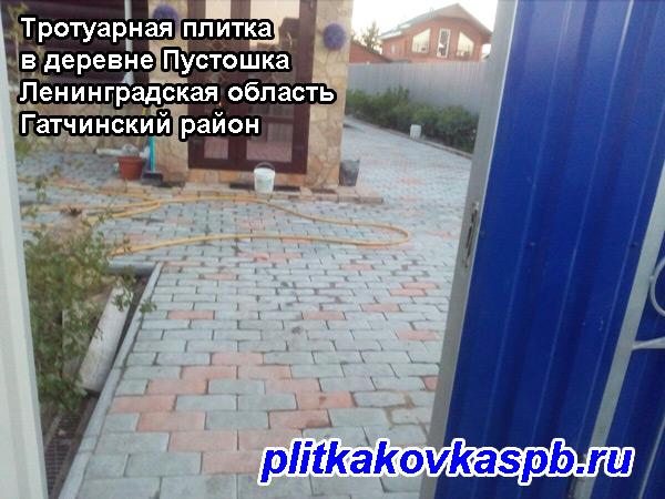 #Тротуарнаяплитка, #Пустошка