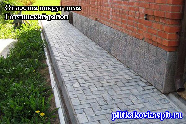 Отмостка вокруг дома в СПб и Ленинградской области