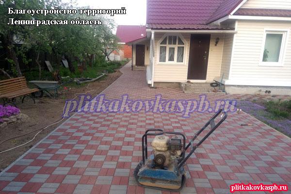 Примеры наших работ в Ленинградской области