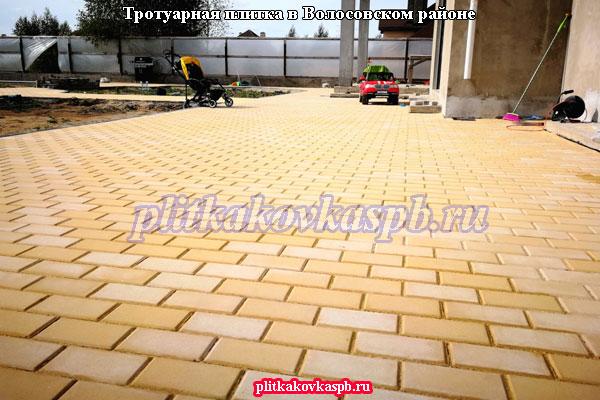 Тротуарная плитка в Волосовском районе