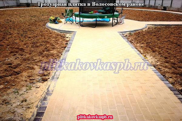 Производство и укладка тротуарной плитки в Волосовском районе
