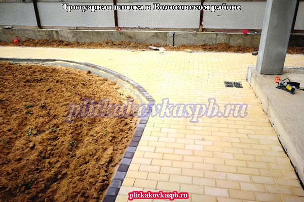 Производство и укладка тротуарной плитки в Волосовском районе Ленинградской области