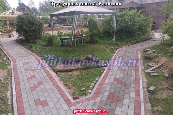 Производство и укладка тротуарной плитки в городе Волосово (Волосовский район Ленинградская область)