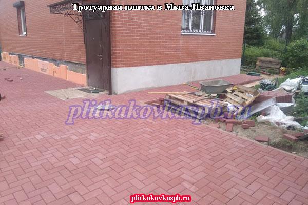 Тротуарная плитка брусчатка: Мыза-Ивановка Гатчинский район