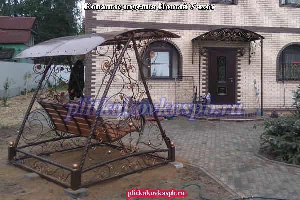 Кованые изделия в посёлке Новый Учхоз на СНТ Победа (Гатчинский район)