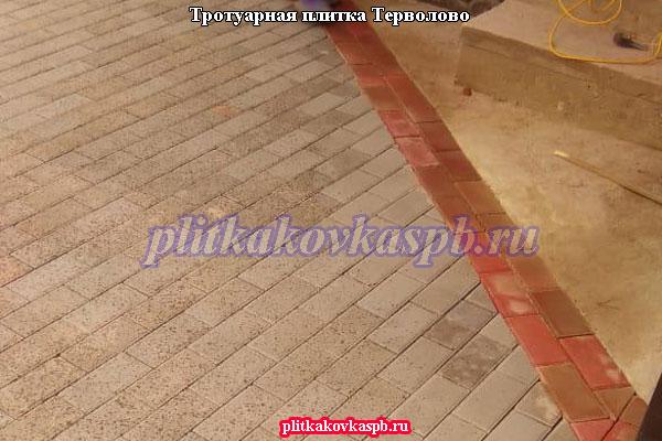 Укладка брусчатки под ключ Терволово (Гатчина)