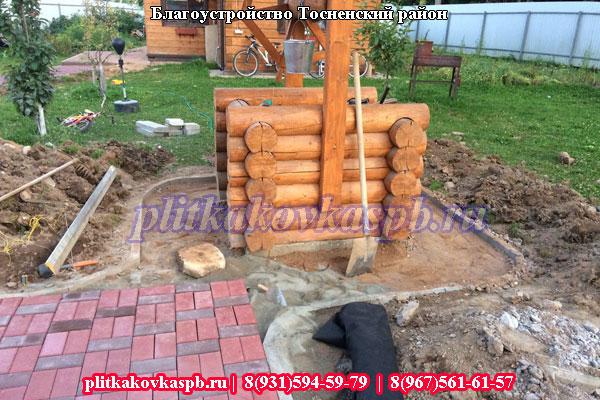 Производство и укладка тротуарной плитки в Тосно
