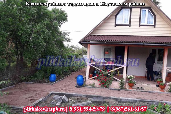 Производство тротуарной плитки в Кировском районе