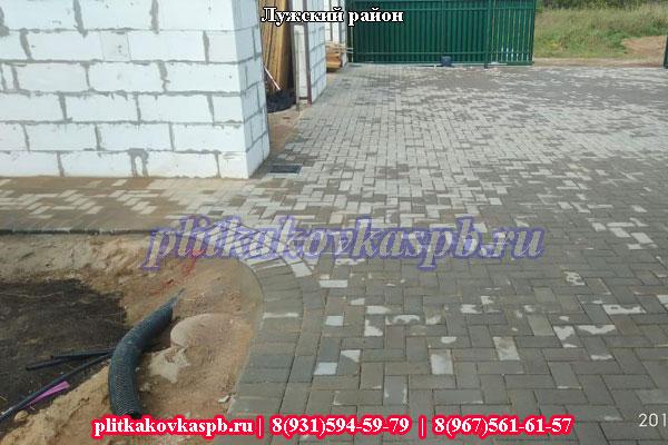 Тротуарная плитка Лужский район