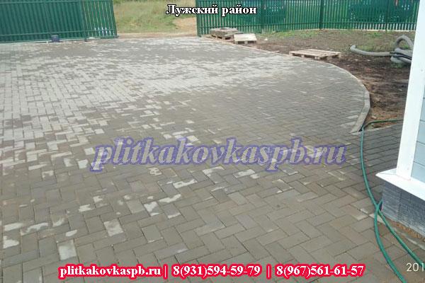 Производство тротуарной плитки в Лужском районе